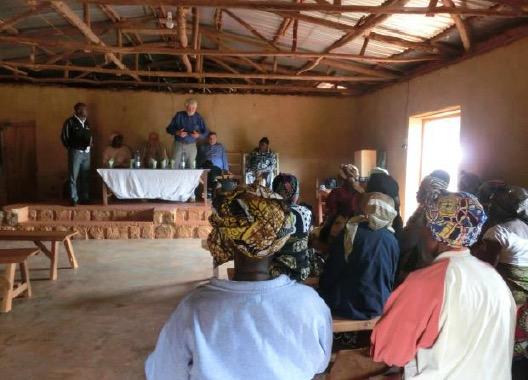 Meeting mit den Senioren zum Start des Projektes
